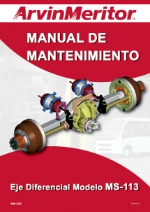 Manual Arvin Meritor